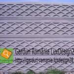 Placi beton gard ieftin de vanzare garantie 20 ani