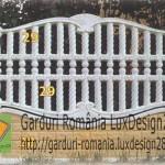 Placi prefabricate beton gard ornamental