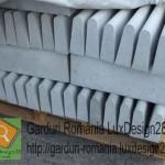 Borduri gri de beton de vanzare