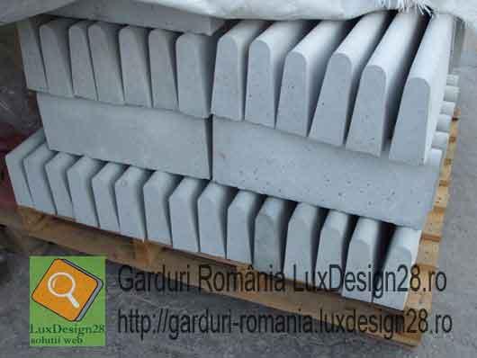 Borduri gri de beton de vanzare oferta