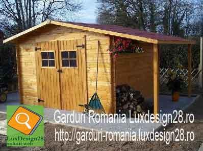 Casa de vacanta o camera din lemn - constructii din lemn