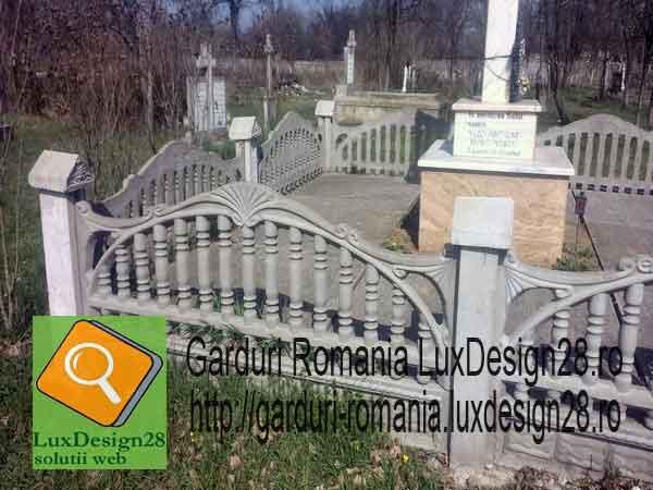 Produse beton altele decat cele prezentate pe paginile siteului - garduri imprejmuire cimitire