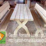 Mese si banci din lemn – oferta constructii lemn